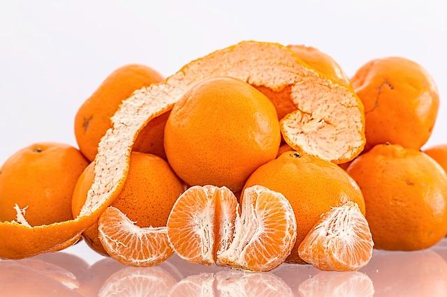 Stoffwechsel Mandarinen